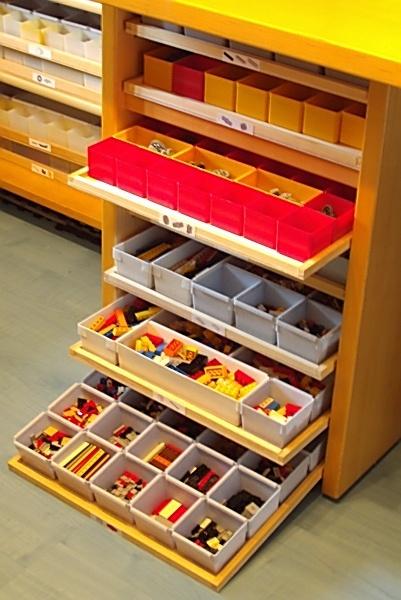 Meine lego sortierung lego bei 1000steinede for Schubladen sortiersystem