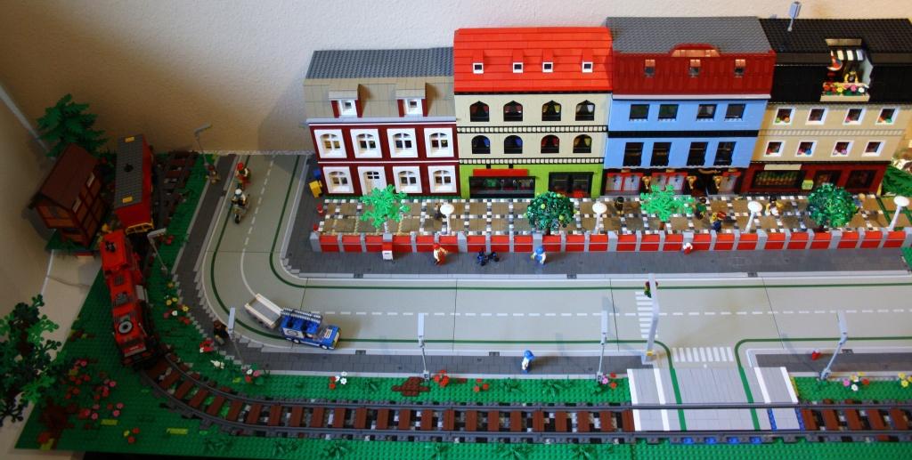 ein ausschnitt meiner stadt wip lego bei. Black Bedroom Furniture Sets. Home Design Ideas