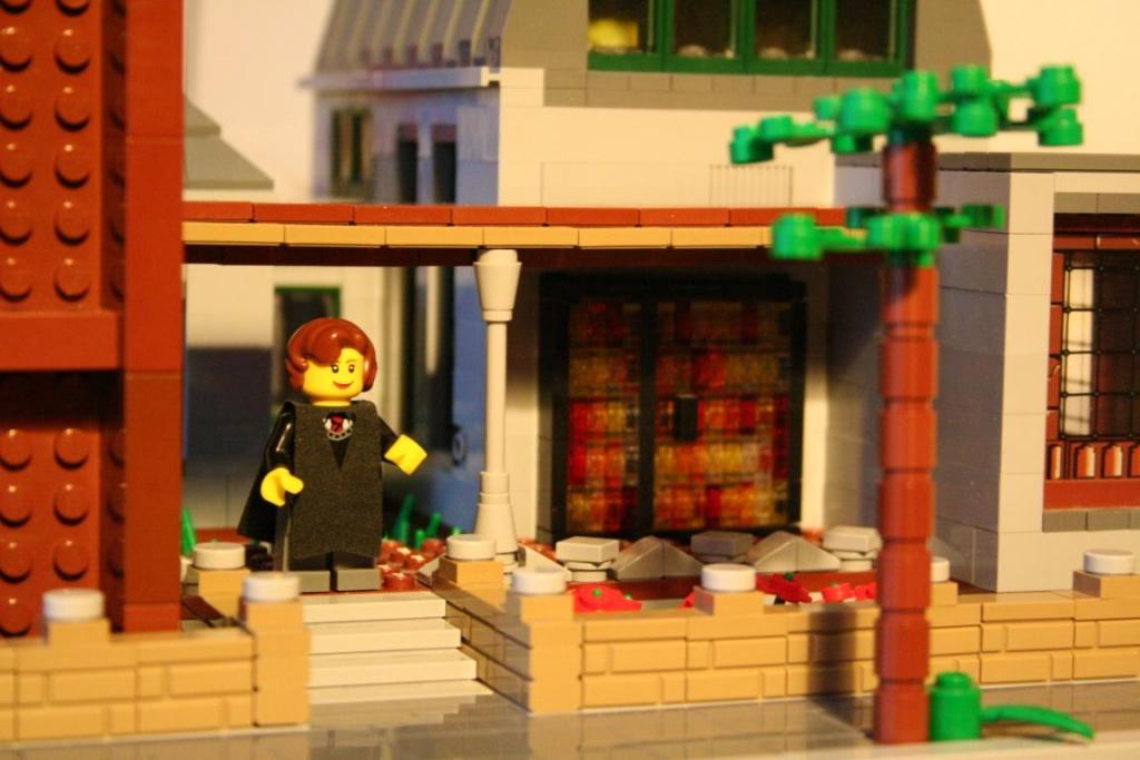 Moderne kirche lego bei gemeinschaft for Lego modernes haus