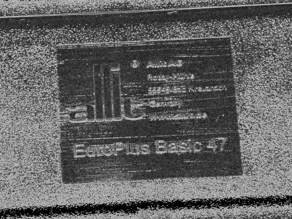 Da Es Unsicherheiten Bezuglich Des Herstellers Gab Einfach Die Kiste Umdrehen Dort Ist Das Allit Logo Zu Sehen EuroPlus Basic 47 Heisst Teil