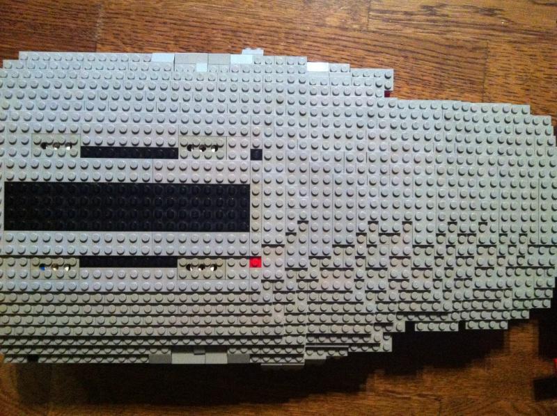 re gro projekt uss voyager projektvorstellung lego bei gemeinschaft forum. Black Bedroom Furniture Sets. Home Design Ideas