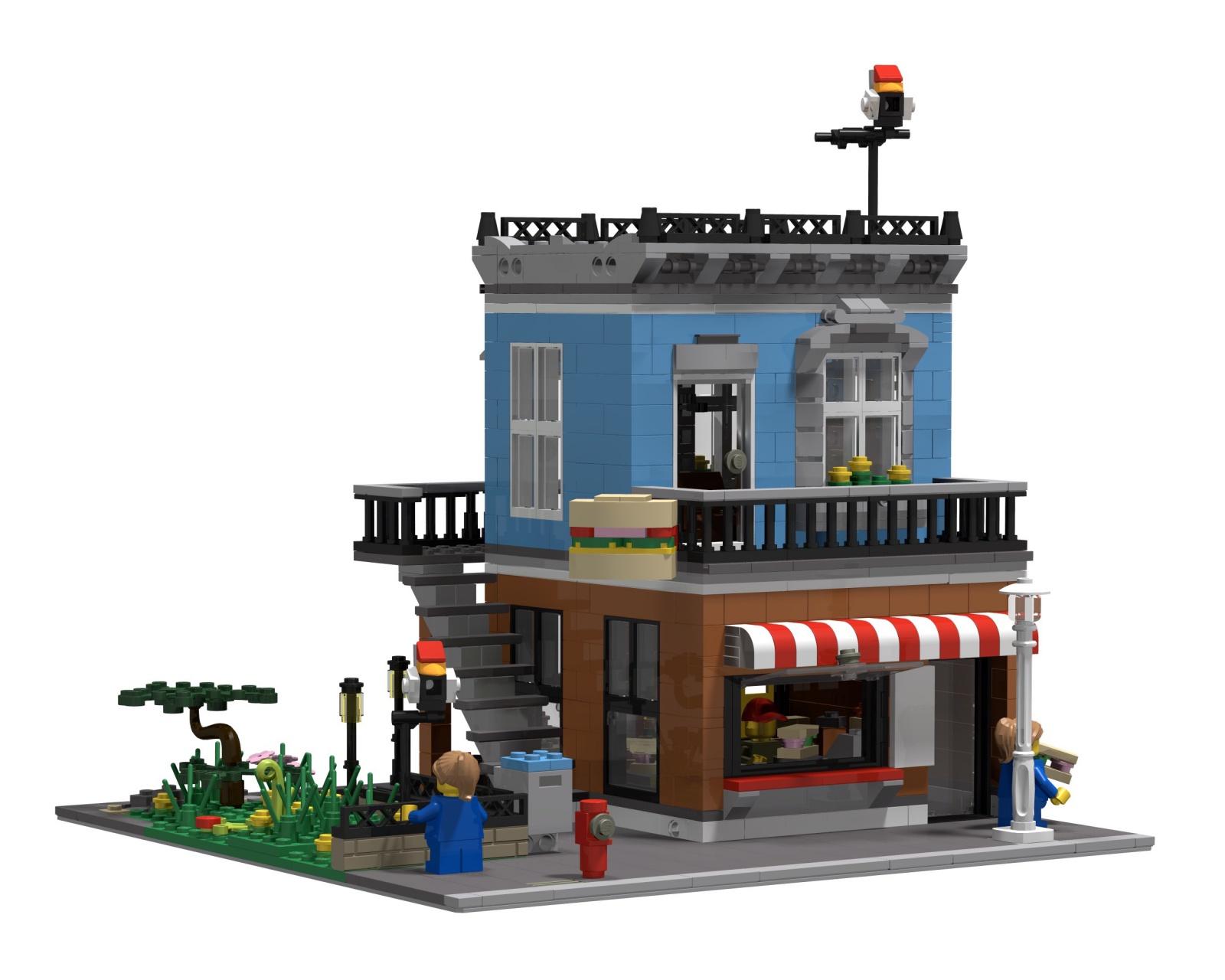 Re 31050 Corner Deli Mod Lego Bei 1000steinede Gemeinschaft