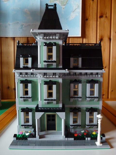 re geisterhaus 10228 in modulares haus umgebaut lego bei gemeinschaft forum. Black Bedroom Furniture Sets. Home Design Ideas