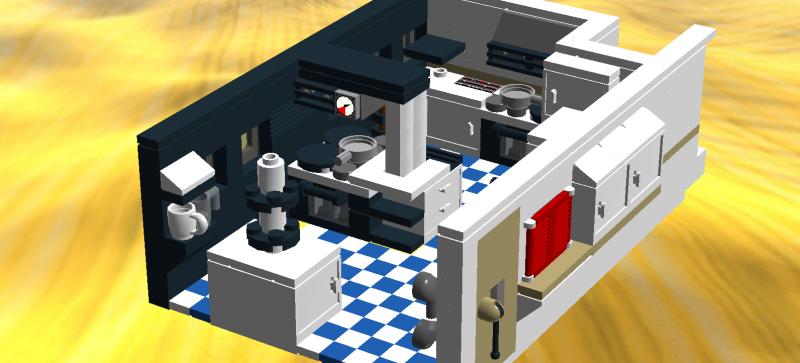 re bord k che f r megaprojekt kreuzfahrtschiff lego bei gemeinschaft forum. Black Bedroom Furniture Sets. Home Design Ideas