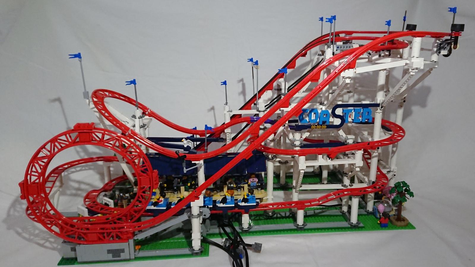 Re Achterbahn Mit Looping Lego Bei 1000steinede Gemeinschaft