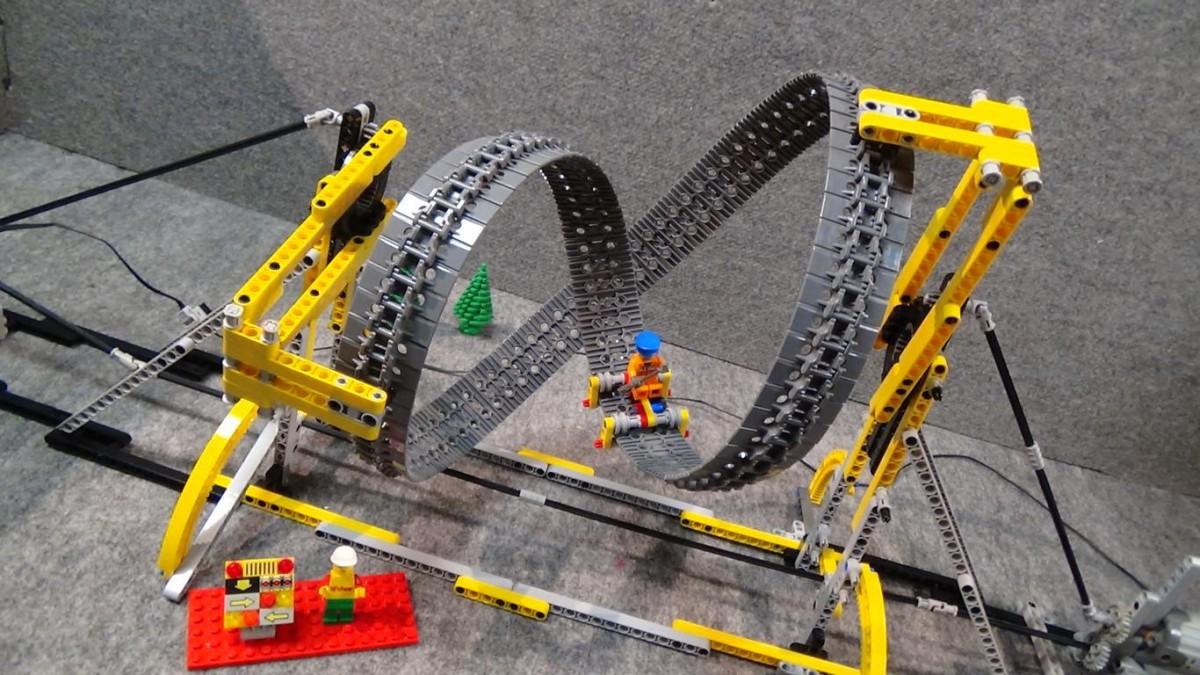 Unendliche Achterbahn Endless Roller Coaster Lego Bei