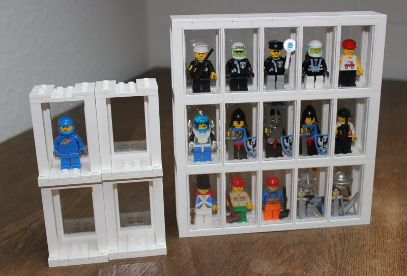 re setzkasten f r lego minifiguren lego bei 1000steine. Black Bedroom Furniture Sets. Home Design Ideas