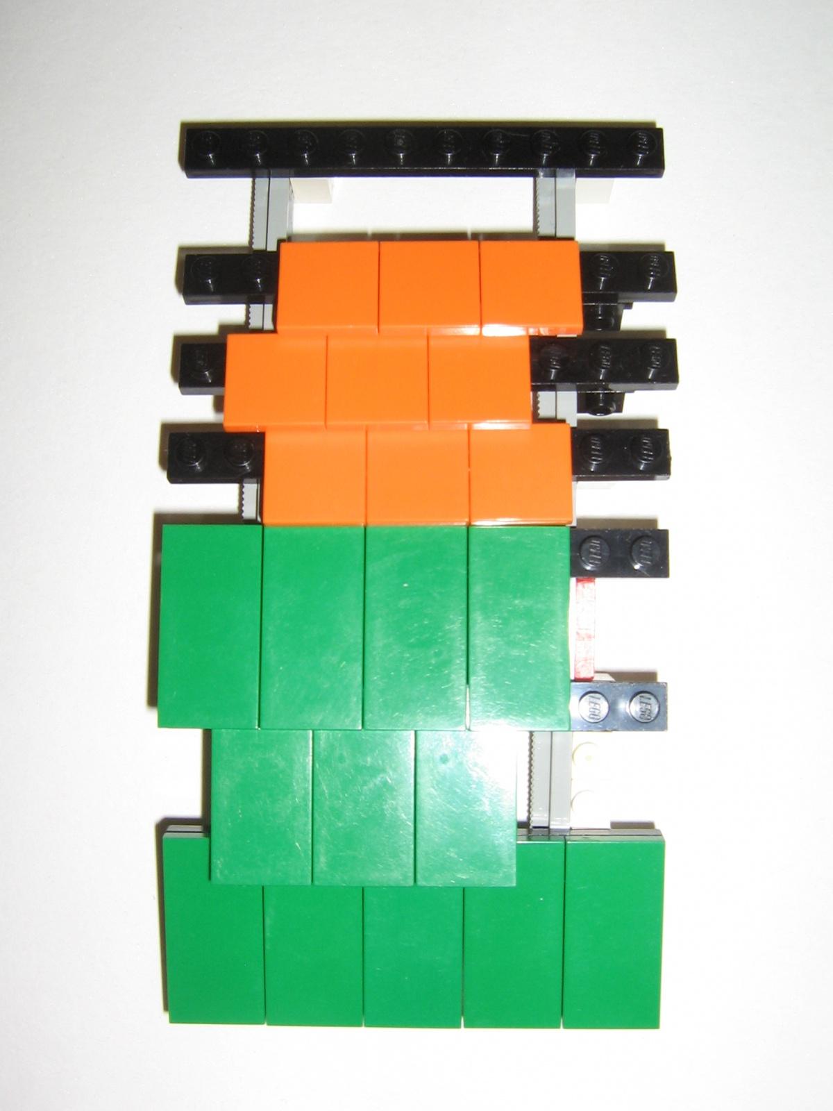 """Berühmt Re: Ein """"gewolbtes"""" Schrägdach bauen :: LEGO bei 1000steine.de HU35"""