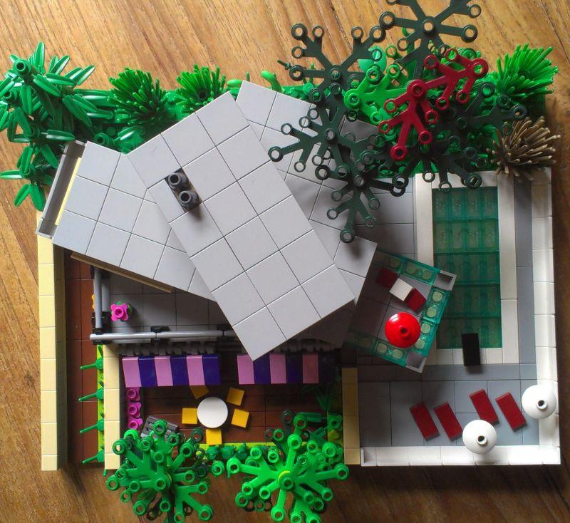 Modernes Lego Wohnzimmer 2018: Re: MOC: Moderne Villa :: LEGO Bei 1000steine.de