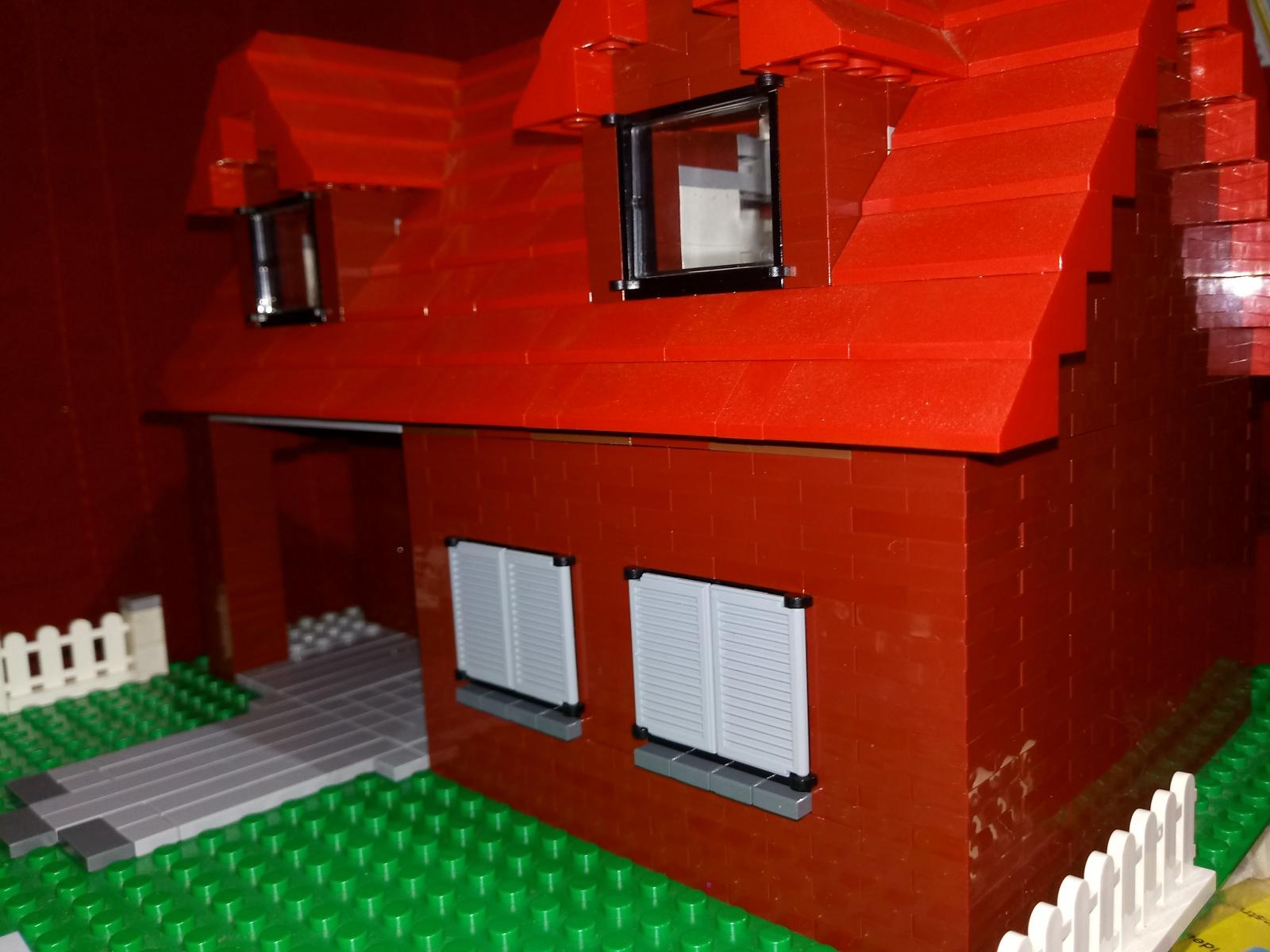 lego h user komplett aus plates bauen lego bei. Black Bedroom Furniture Sets. Home Design Ideas
