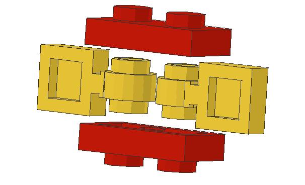 techniksteine gegeneinander drehen kleiner h henunterschied gg normalen steinen lego bei. Black Bedroom Furniture Sets. Home Design Ideas