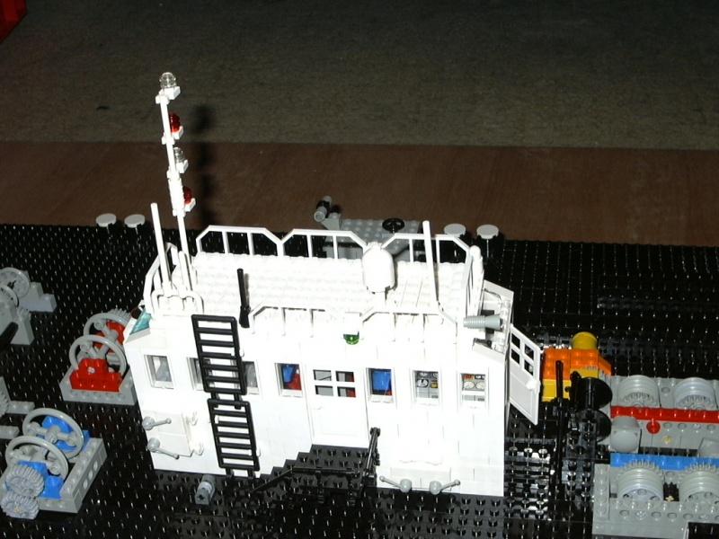 WiP: Schwimmkran GPS Atlas 1:42 - Update 02 :: LEGO bei 1000steine ...