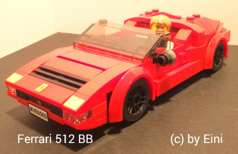 re ferrari im minifigurenma stab lego bei 1000steine. Black Bedroom Furniture Sets. Home Design Ideas
