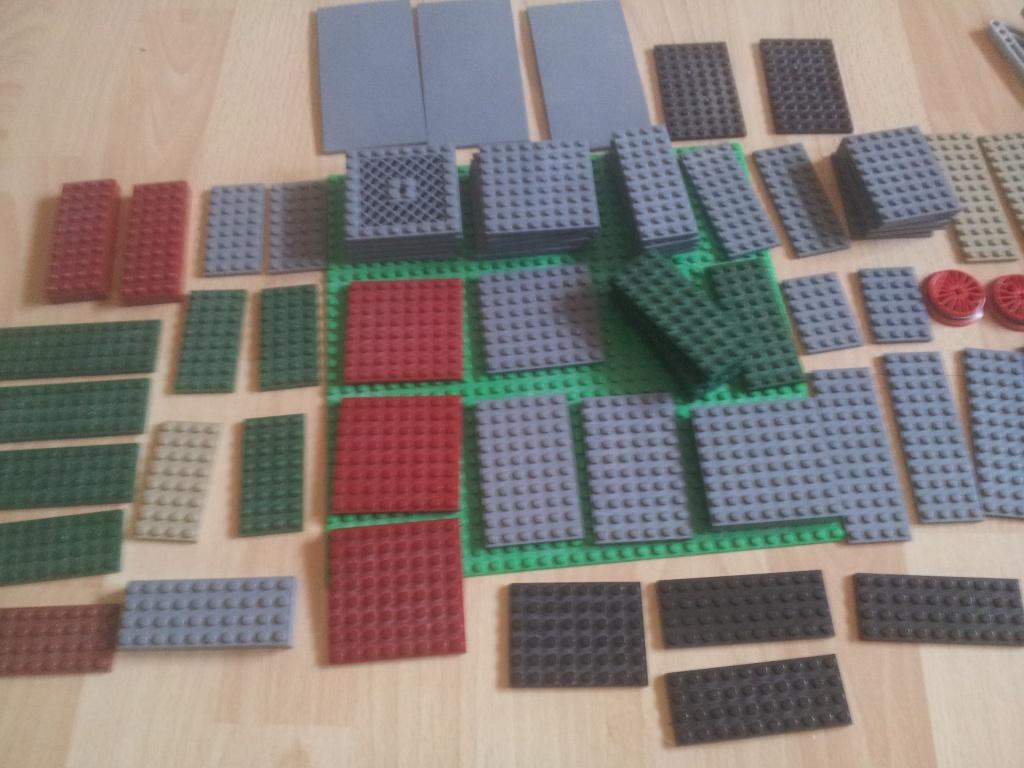 re lego city drachen steine u platten sowie star wars reste lego bei. Black Bedroom Furniture Sets. Home Design Ideas