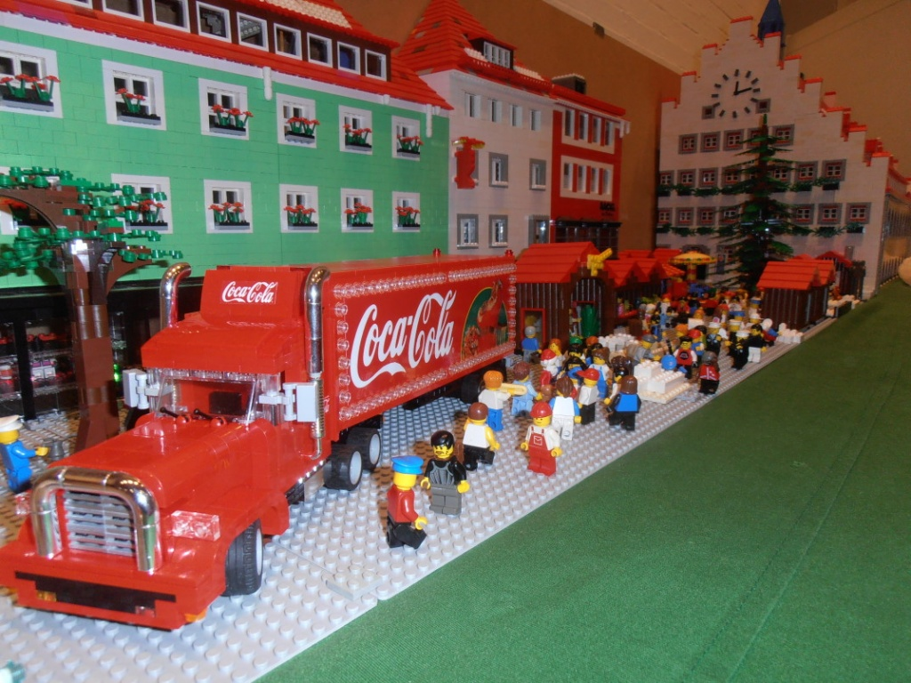 coca cola weihnachts truck lego bei. Black Bedroom Furniture Sets. Home Design Ideas