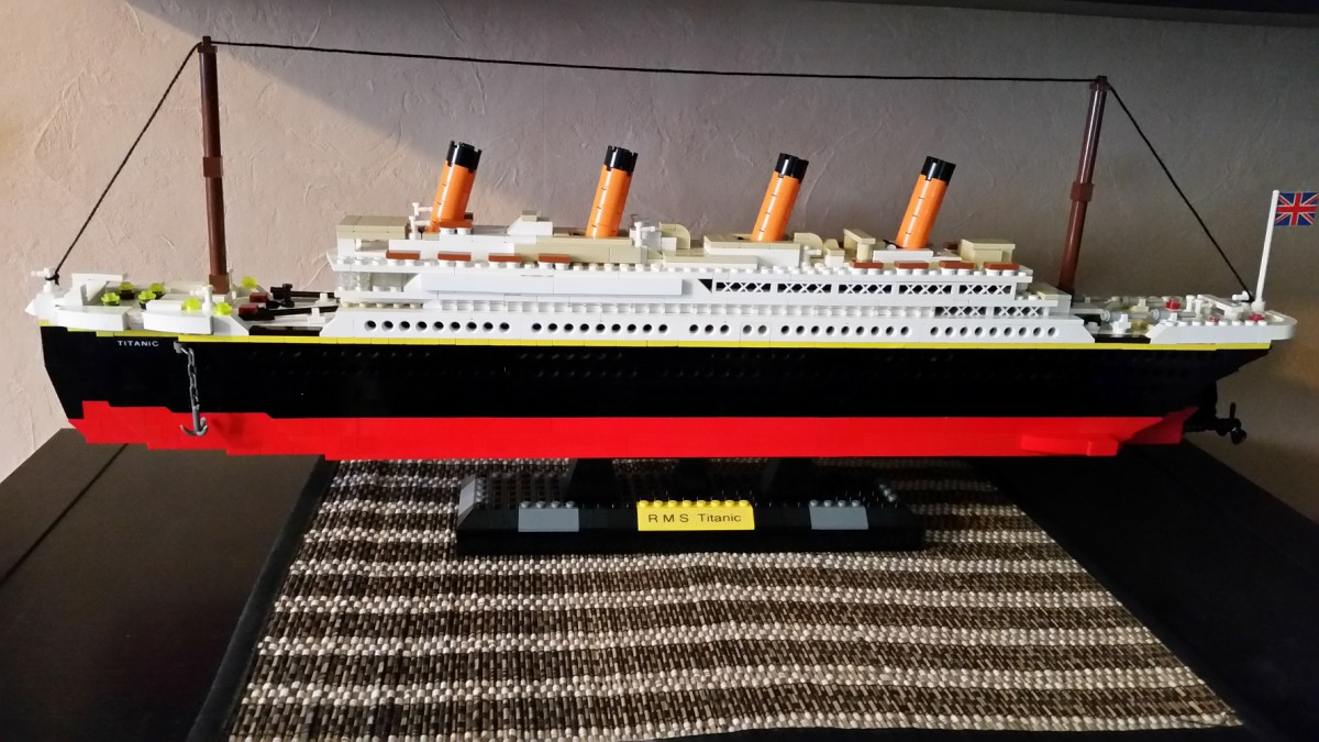 titanic lego bei gemeinschaft forum. Black Bedroom Furniture Sets. Home Design Ideas