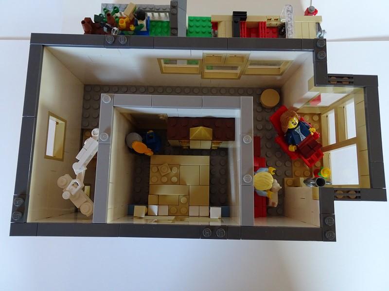 Modernes wohnhaus lego bei for Modernes lego haus