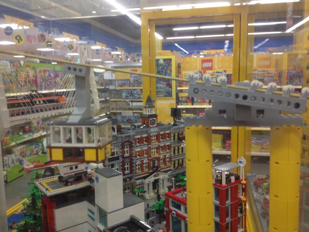 die neue lego seilbahn! :: lego bei 1000steine.de :: gemeinschaft