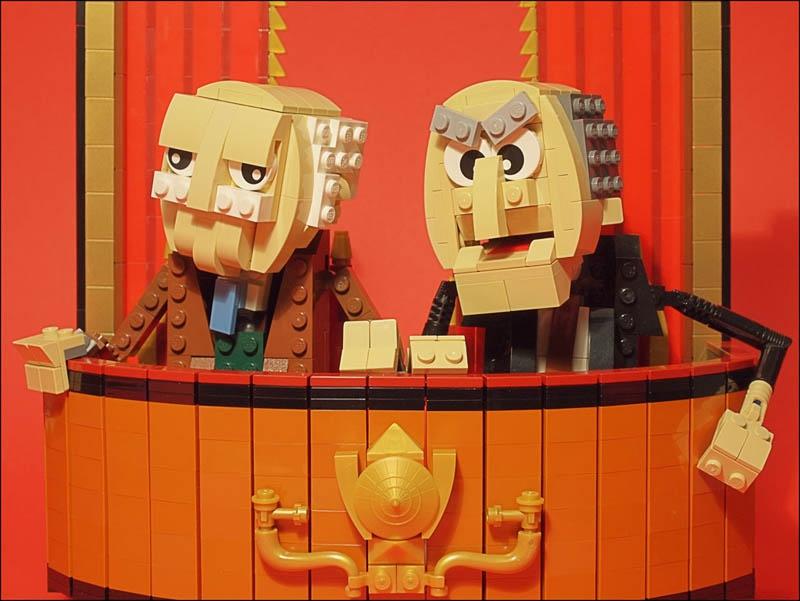 die zwei alten aus der muppet show
