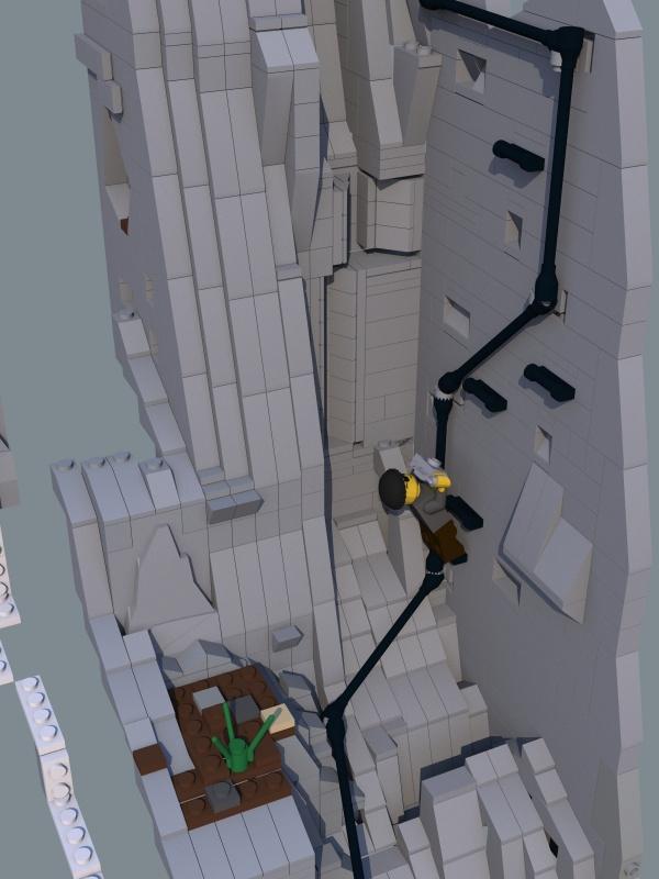 Re teaser moc klettersteig danke lego bei gemeinschaft forum - Pflanzenwand bauen ...