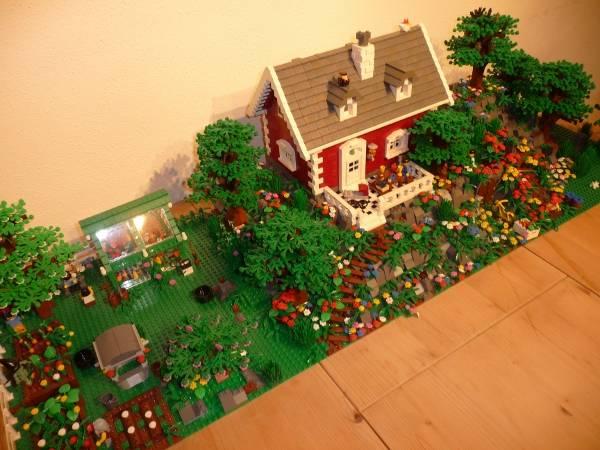 Re: Haus mit Garten :: LEGO bei 1000steine.de :: Gemeinschaft :: Forum