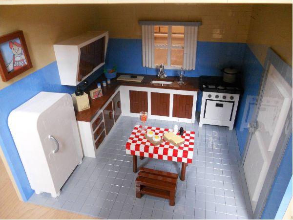 Das Lego Maskottchen In Seinem Haus Anno 1958 Lego Bei