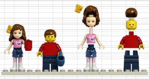 LEGO Friends Figur Baukästen & Konstruktion LEGO Bau- & Konstruktionsspielzeug