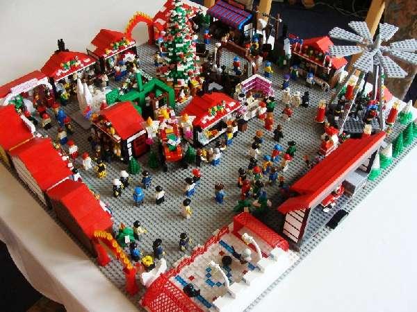 Lego Weihnachtsmarkt.4 Advent Weihnachtsmarkt Noppenberg Lego Bei 1000steine De