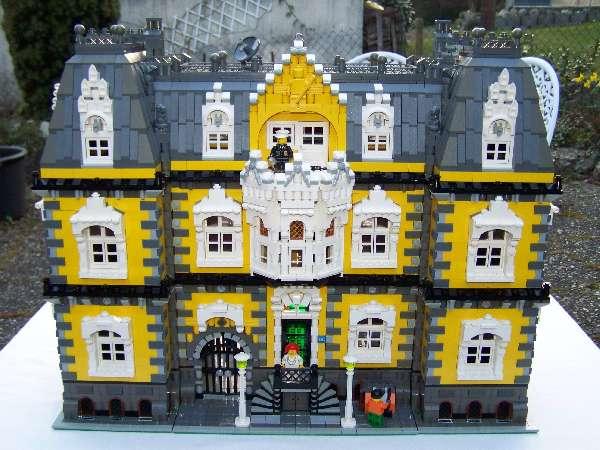 Gemeinschaft forum hubschrau b r for Modernes lego haus