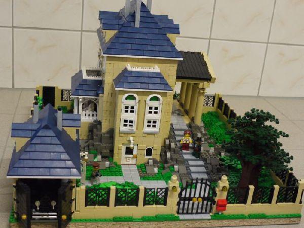re die neue villa von herrm bigman lego bei 1000steine. Black Bedroom Furniture Sets. Home Design Ideas