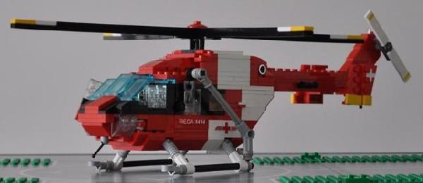 bergrettung mit dem rettungshelikopter der rega viele bilder lego bei. Black Bedroom Furniture Sets. Home Design Ideas