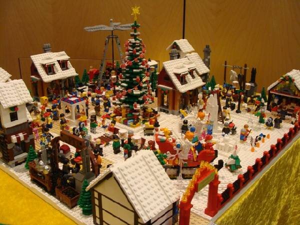Lego Weihnachtsmarkt.Re Weihnachtsmarkt Vers 4 0 Lego Bei 1000steine De