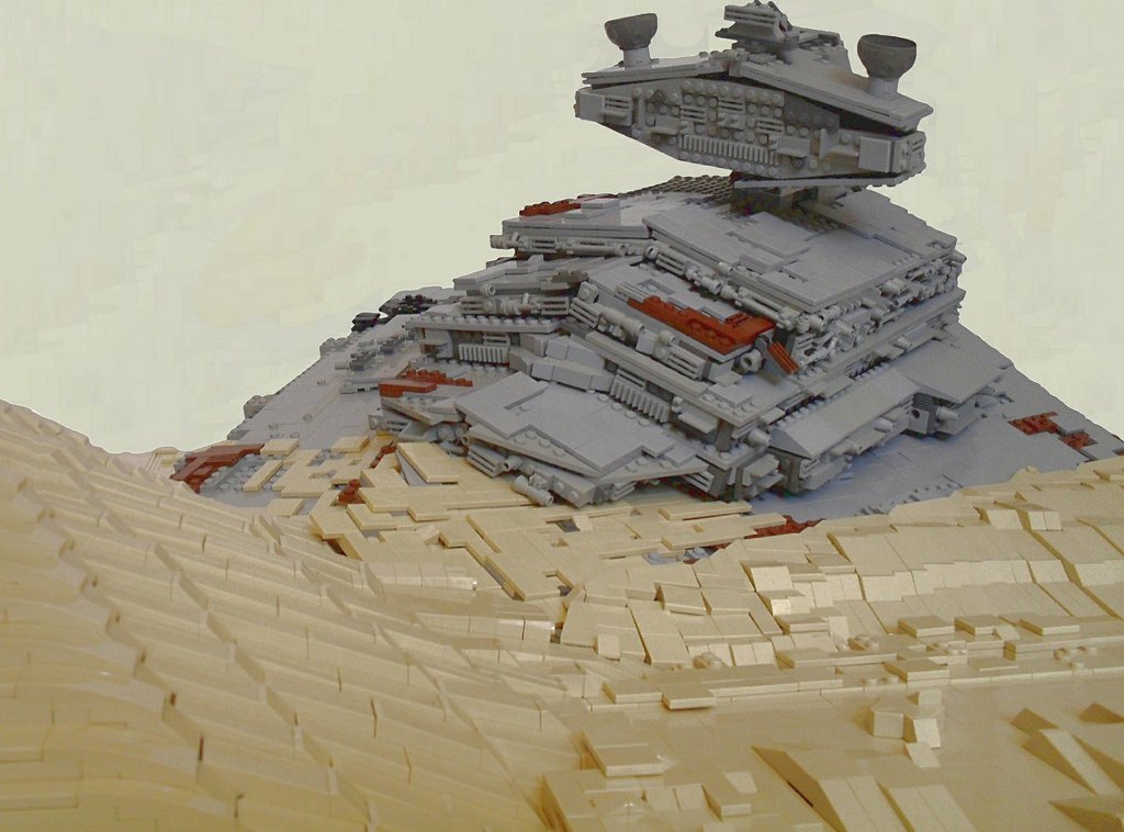 midi scale millennium falcon lego instructions