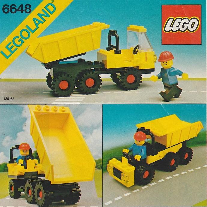 Lego Auto 6527 Tipper Truck  Mini Kipper  mit Figur von 1989  80er Jahre
