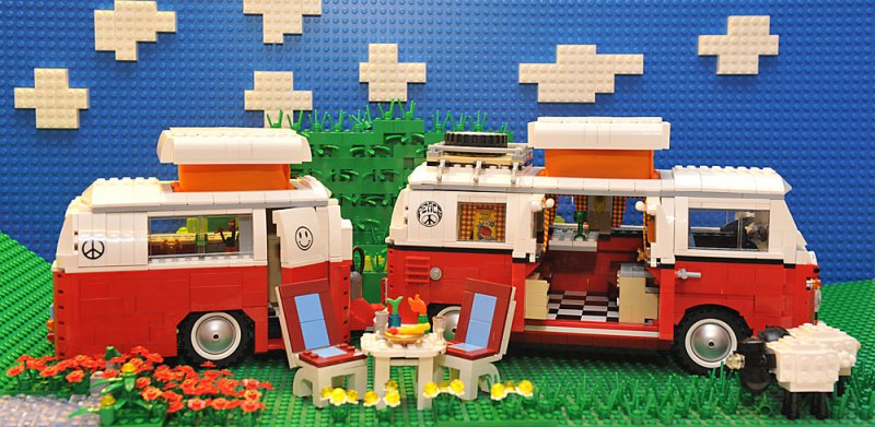 re wohnanh nger f r vw bus t1 lego bei. Black Bedroom Furniture Sets. Home Design Ideas